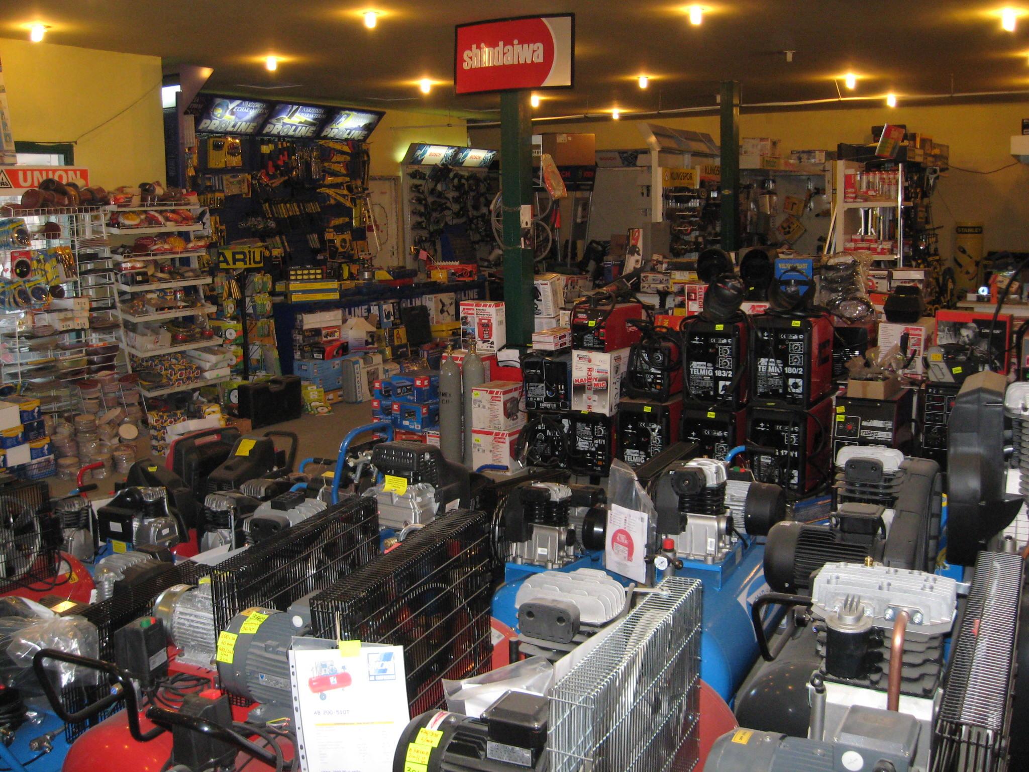 Widok wnętrza sklepu 1