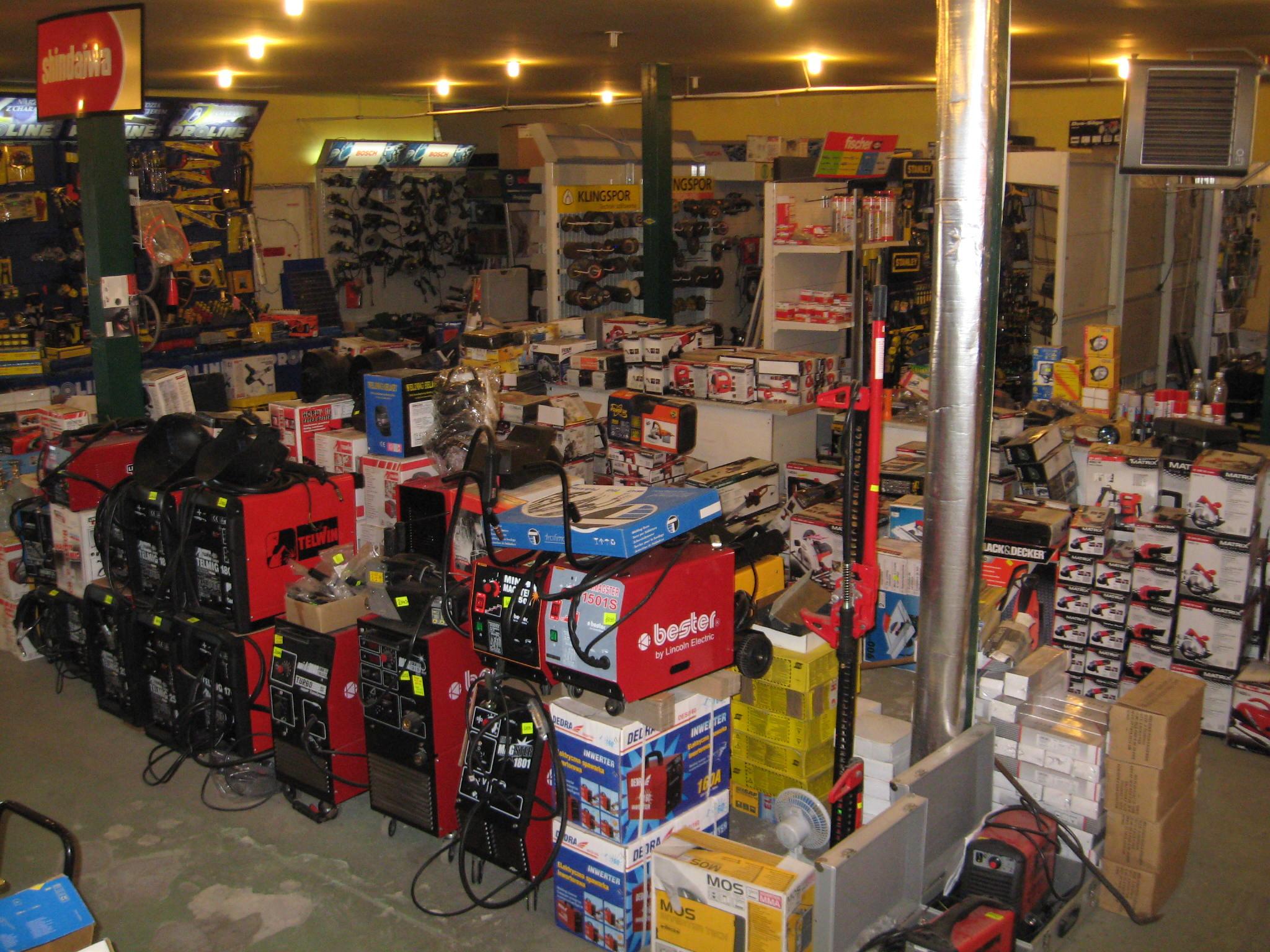 Widok wnętrza sklepu 2