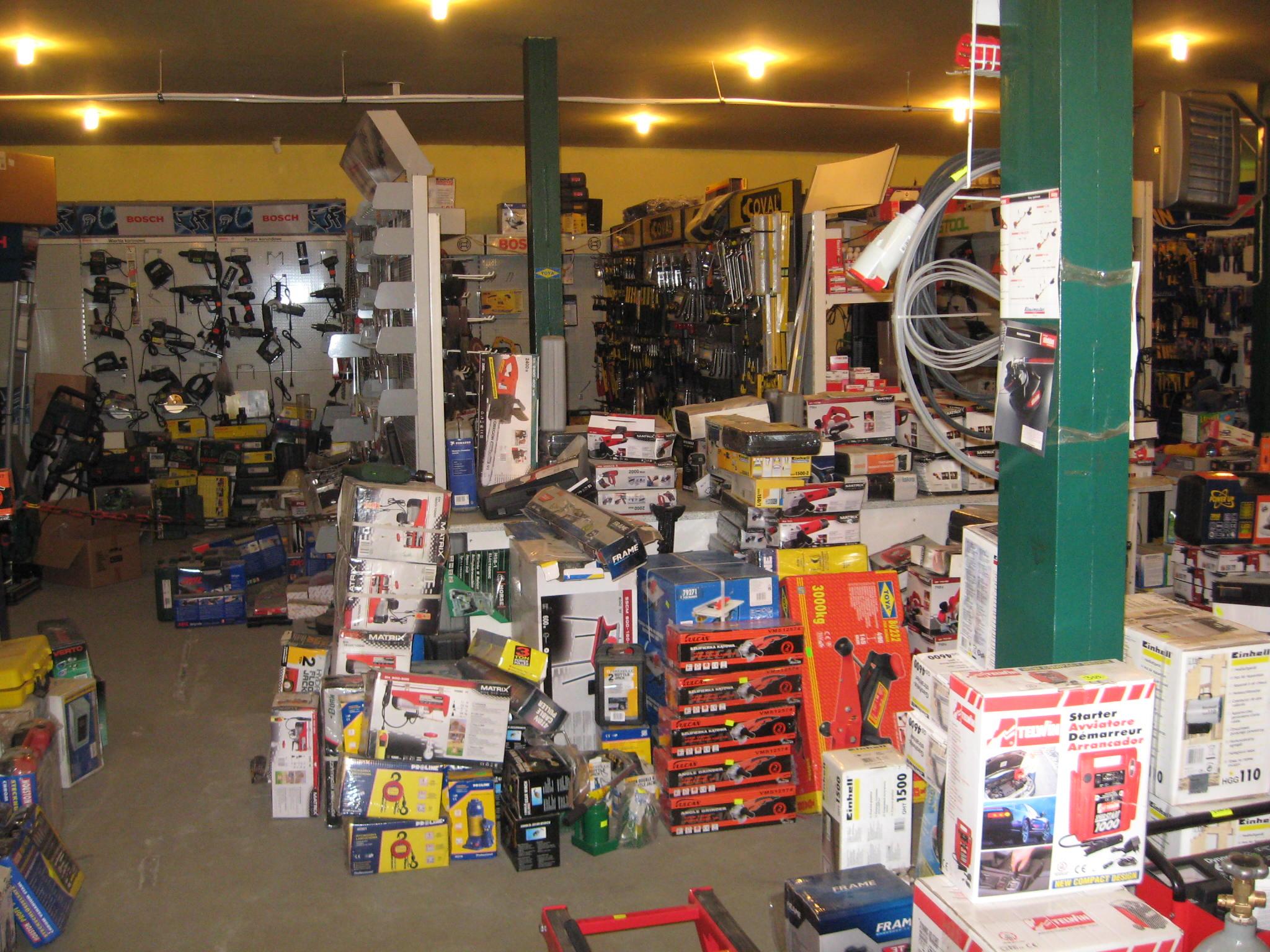 Widok wnętrza sklepu 3