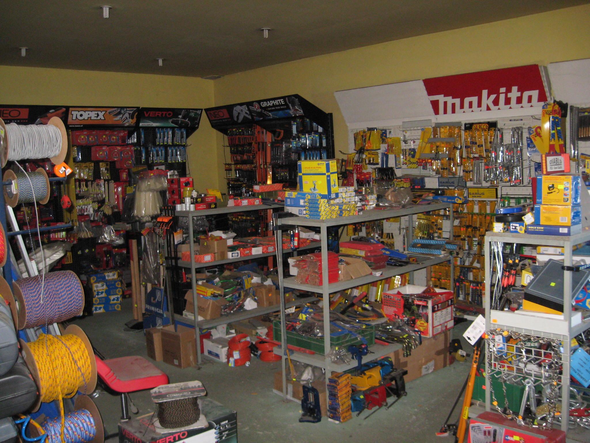 Widok wnętrza sklepu 5