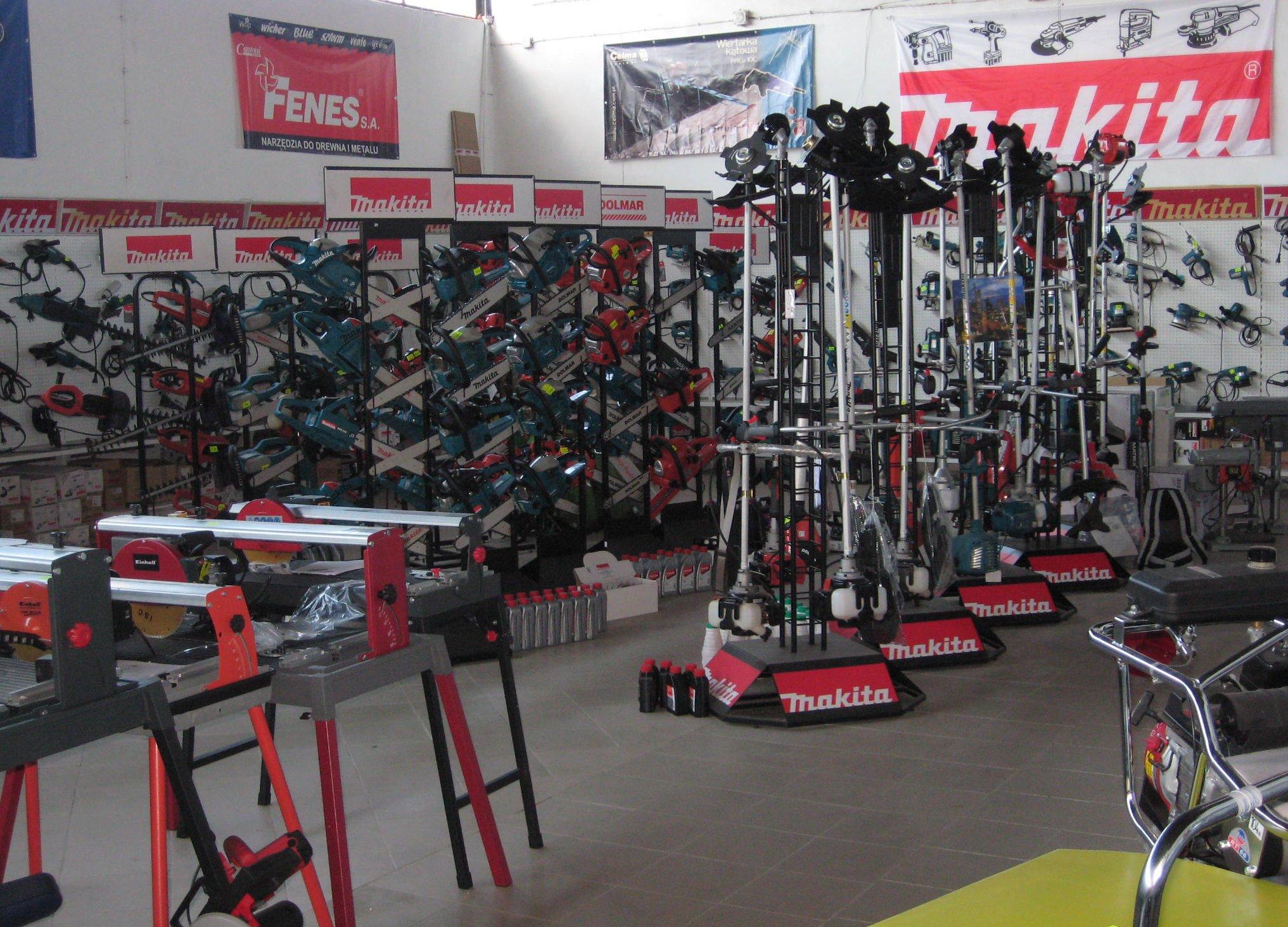 Widok wnętrza sklepu 8